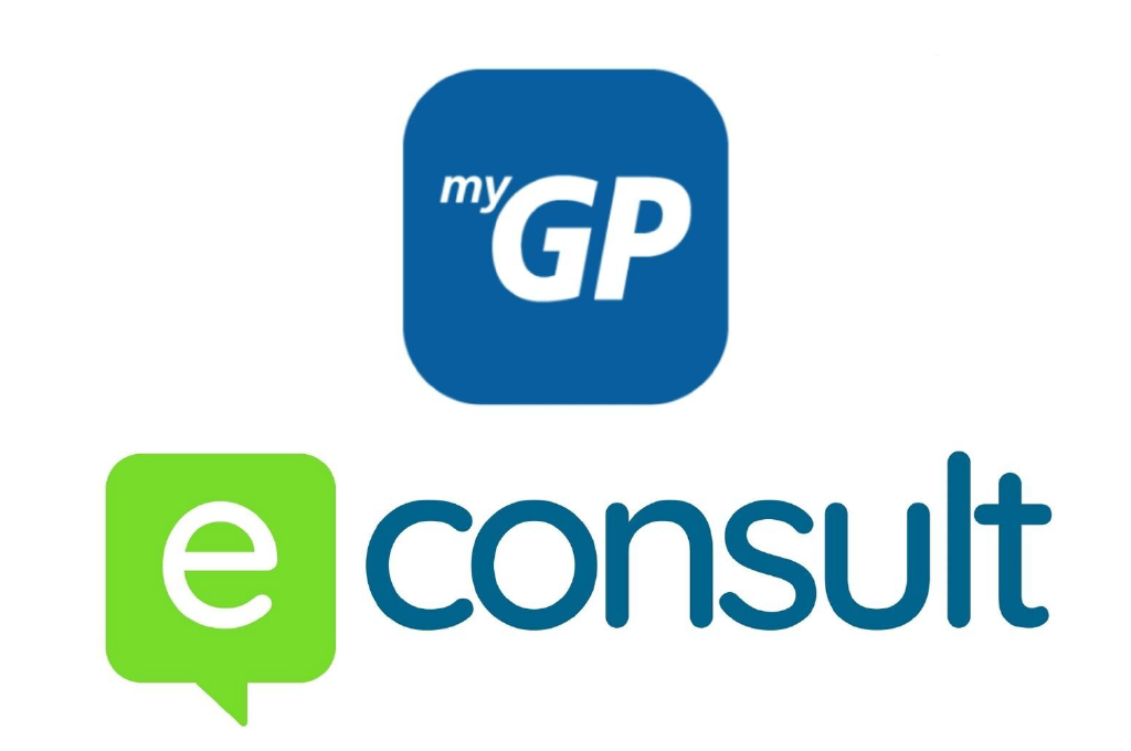 myGP and eConsult logo
